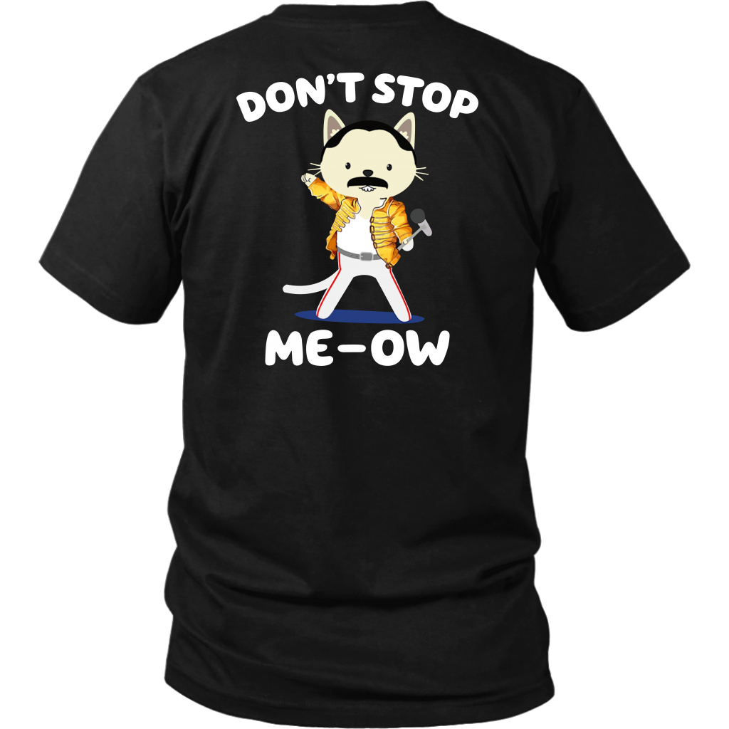 Don't Stop Meow Freddie Purrcury shirt