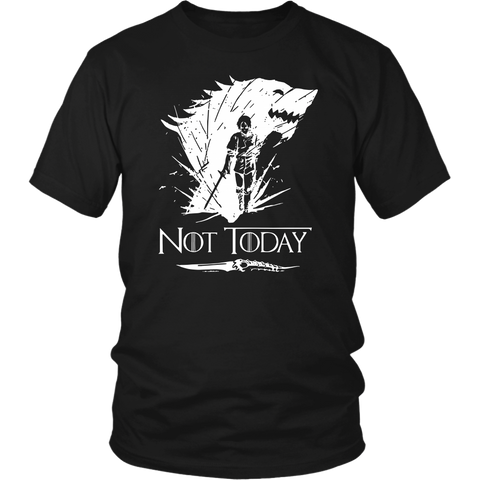 Arya Stark Not Today shirt