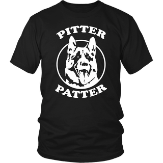 Funny Pitter Patter Dog Arch logo shirt