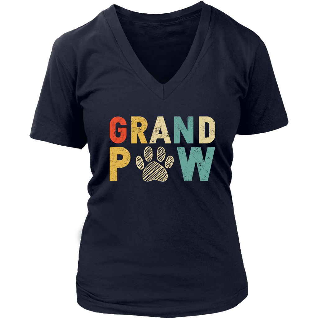 Grand Paw T Shirt Funny Paw Dog