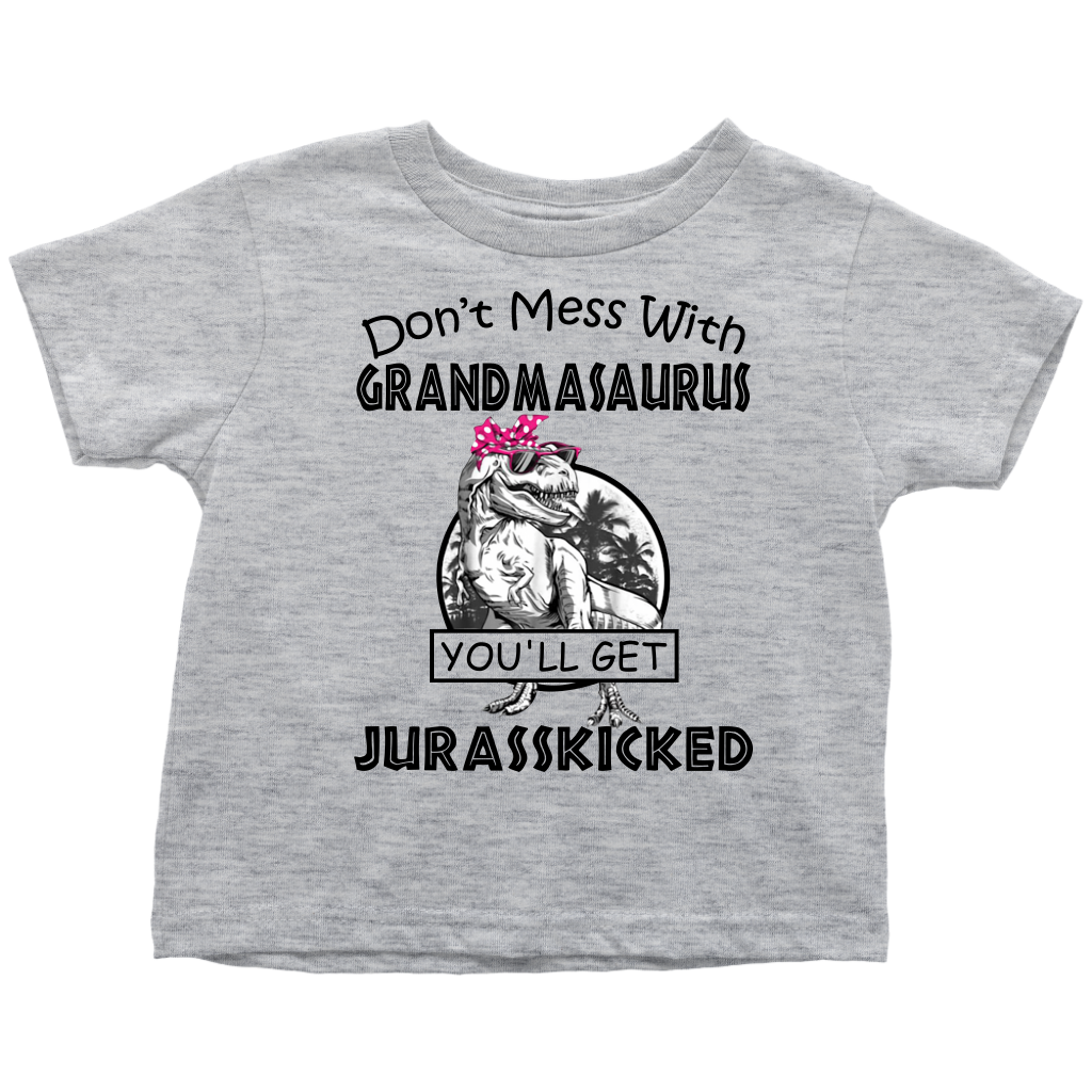 Don't Mess With Grandmasaurus You'll Get Jurasskicked shirts funny grandma