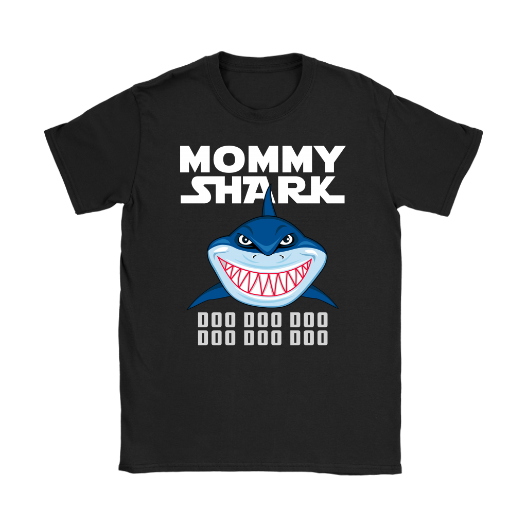 Mommy Shark Doo Doo Doo T-Shirt Funny Matching Family