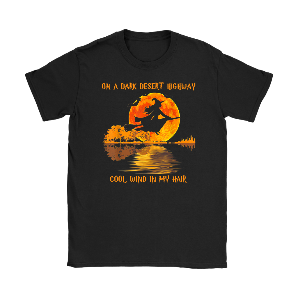 Witch Guitar On A Dark Desert Highway Cool Wind In My Hair Shirts