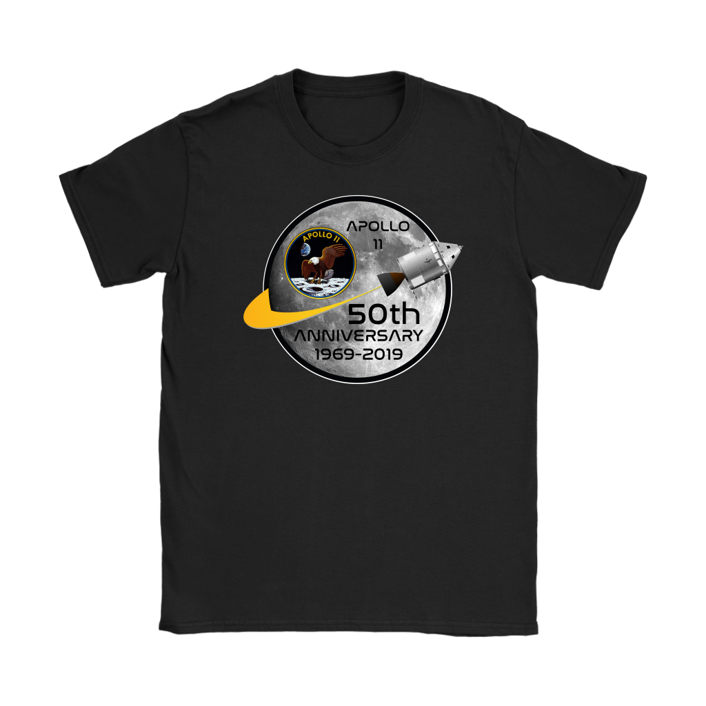 Apollo 11 50th Anniversary Moon Landing 1969 2019 T Shirt