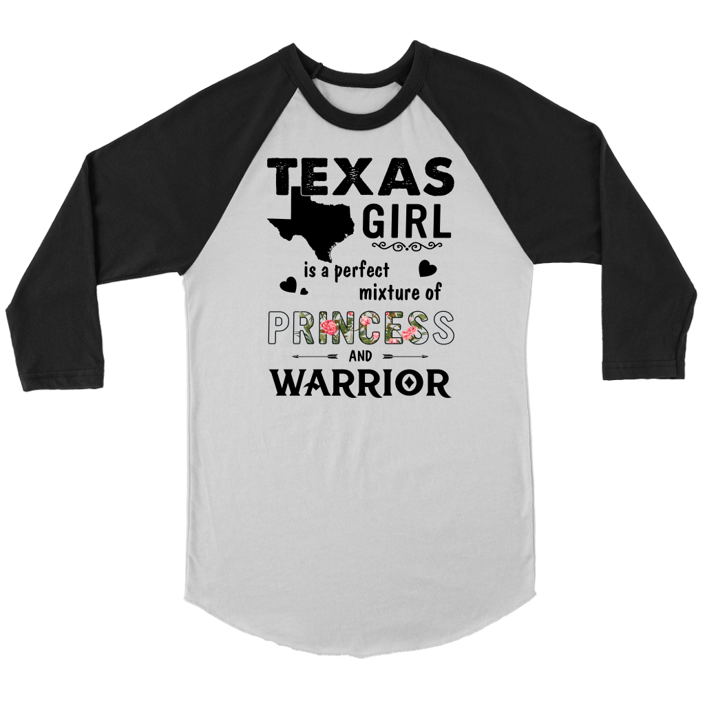 Texas Girl is a perfect mixture of Princess and Warrior shirt