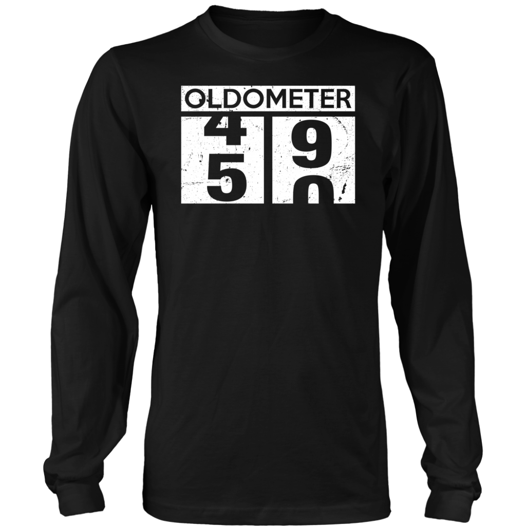 Oldometer 49 50 T Shirts 49 50 Oldometer shirt 50th Birthday Funny