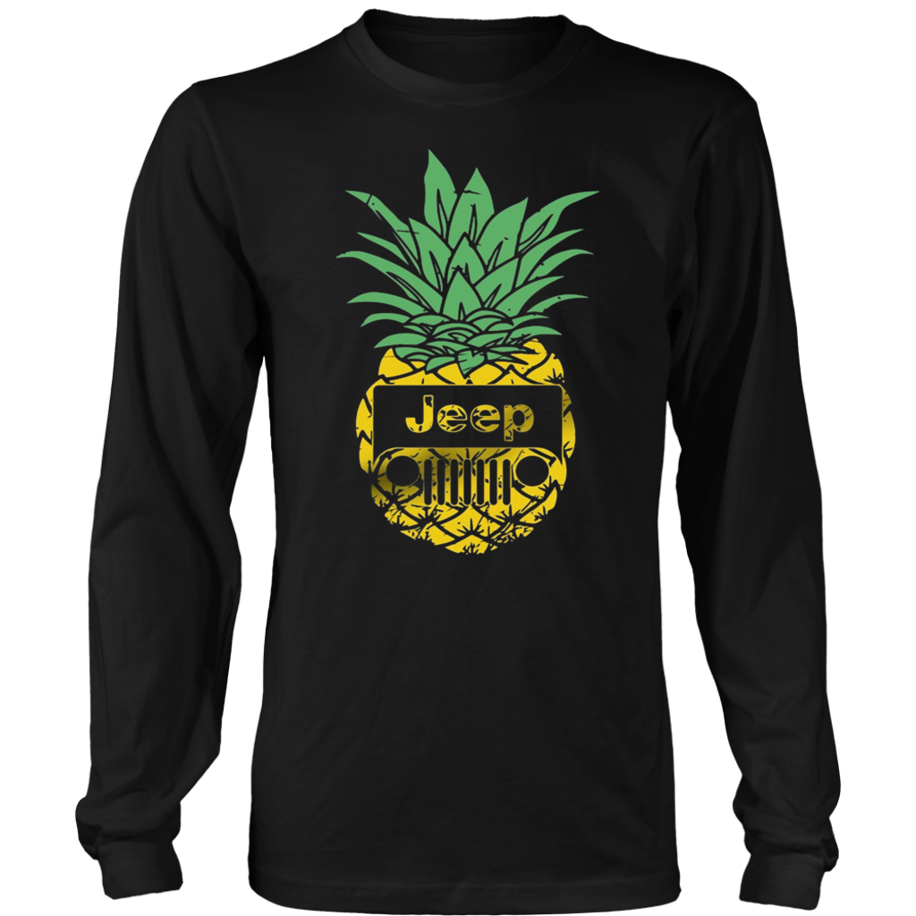 Funny Pineapple Jeep T Shirts Vintage