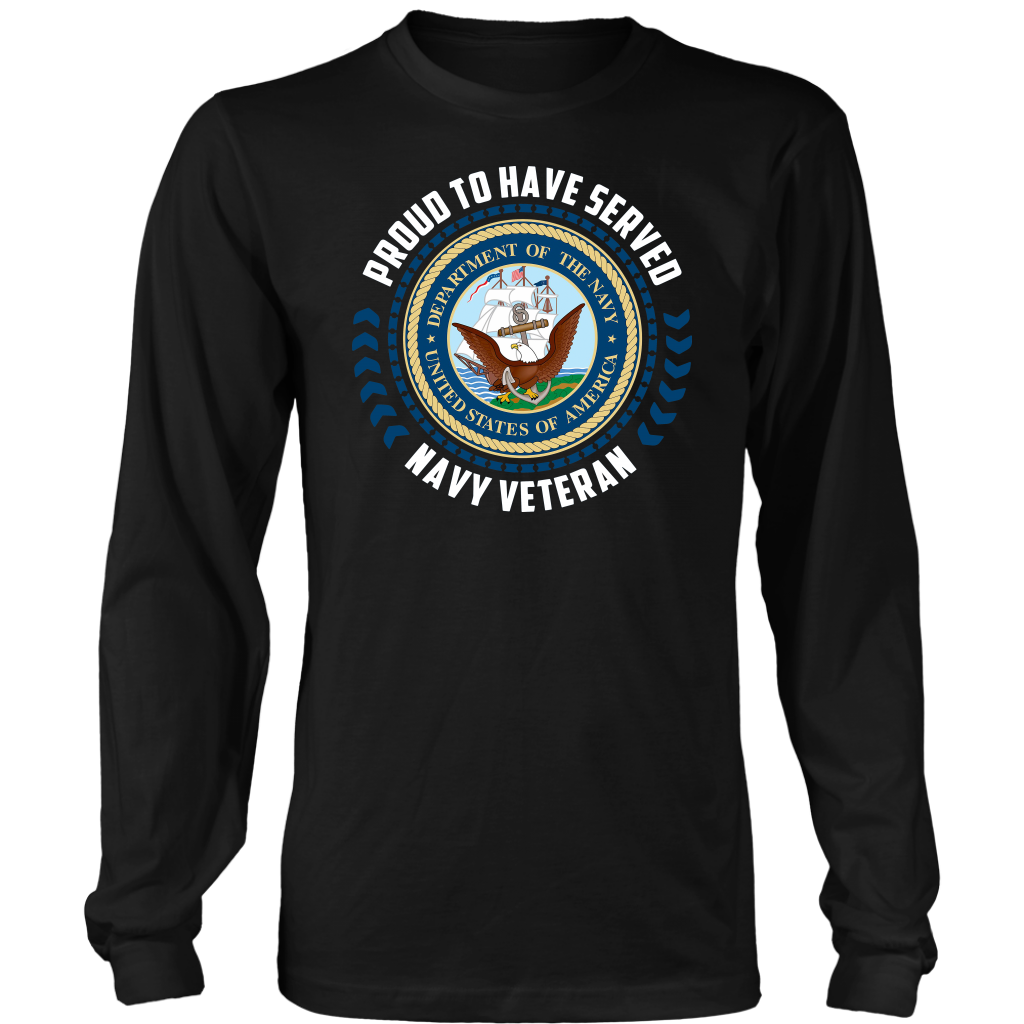 Proud to have served Navy Veteran shirt