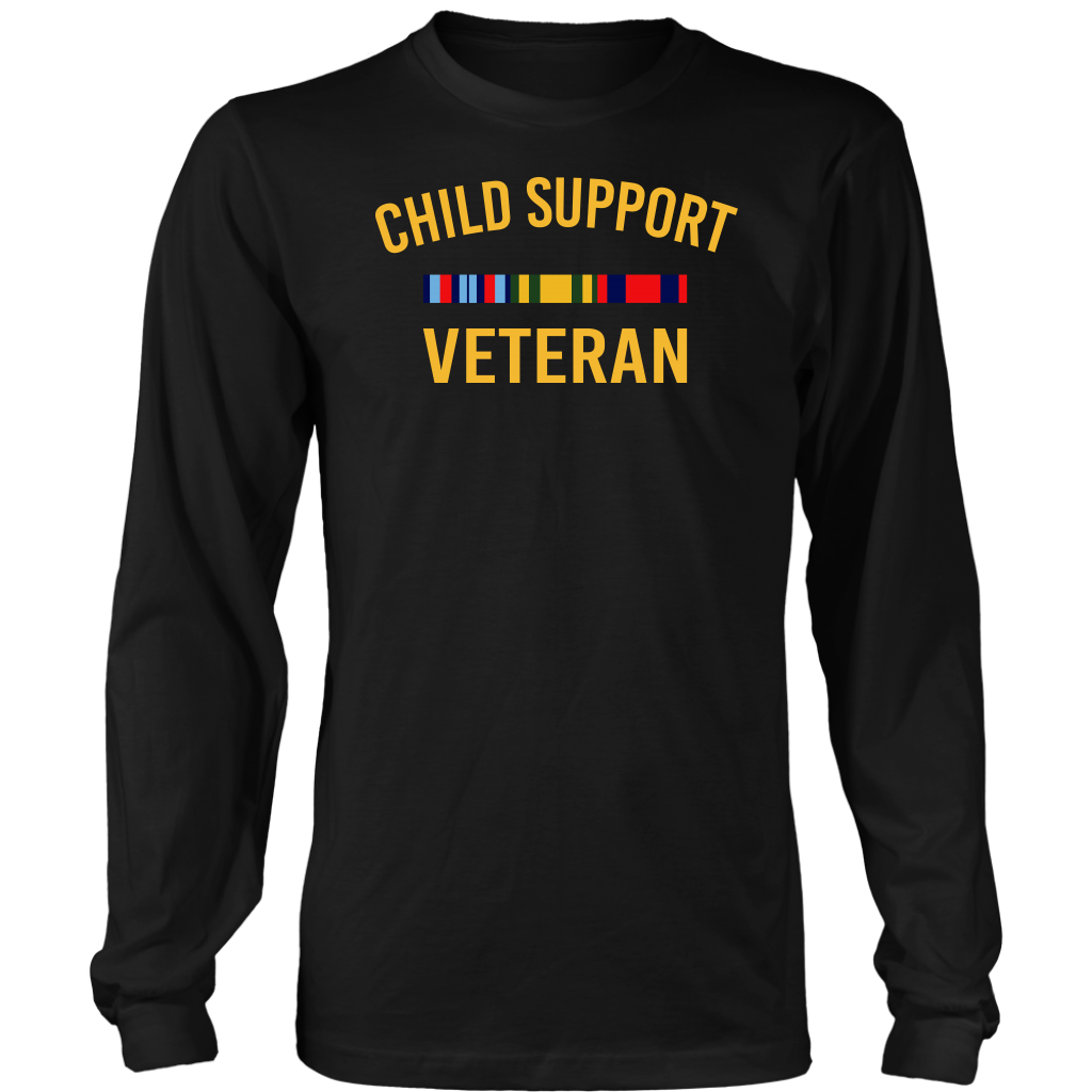Child Support Veteran T Shirt