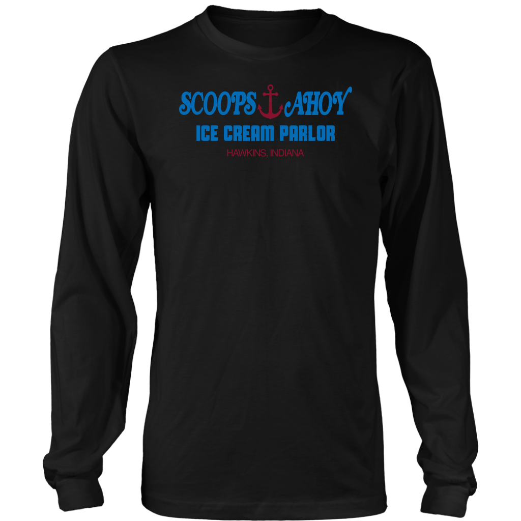Scoops Ahoy Ice Cream Parlor T Shirts