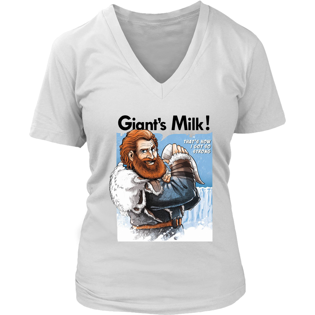 Tormund Giant's Milk That's How I Got So Strong shirt