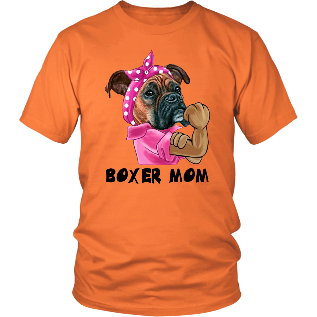 Funny Boxer Dog Mom shirt