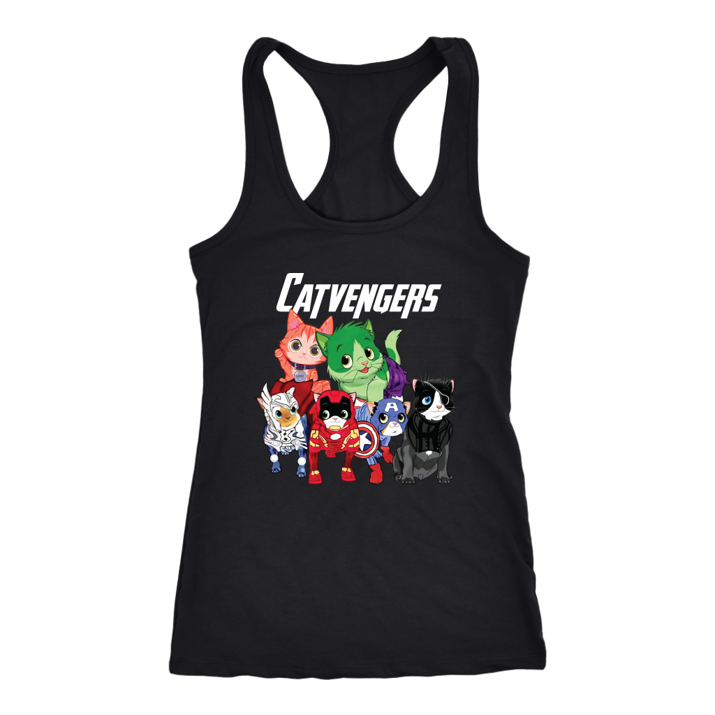 The Catvengers Funny Goose Cat T Shirts