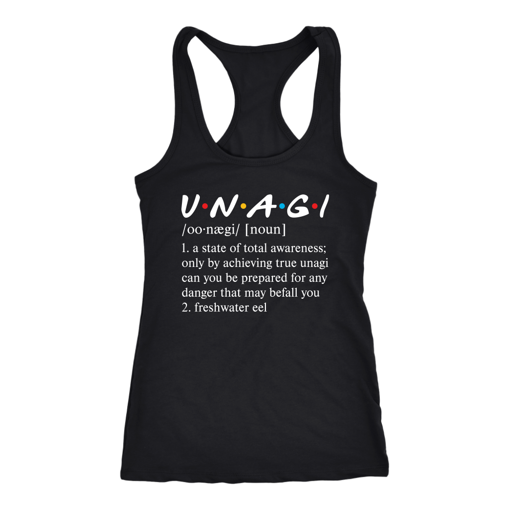 Funny Friends Unagi Meaning Definition shirt