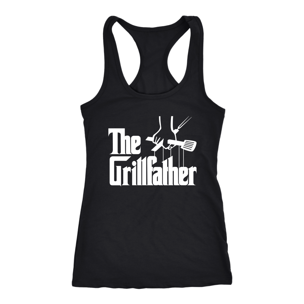 The Grillfather BBQ Grill and Smoker Barbecue Chef shirt