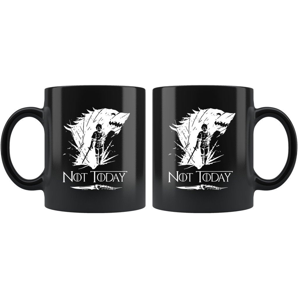 Arya Stark Not Today Mug