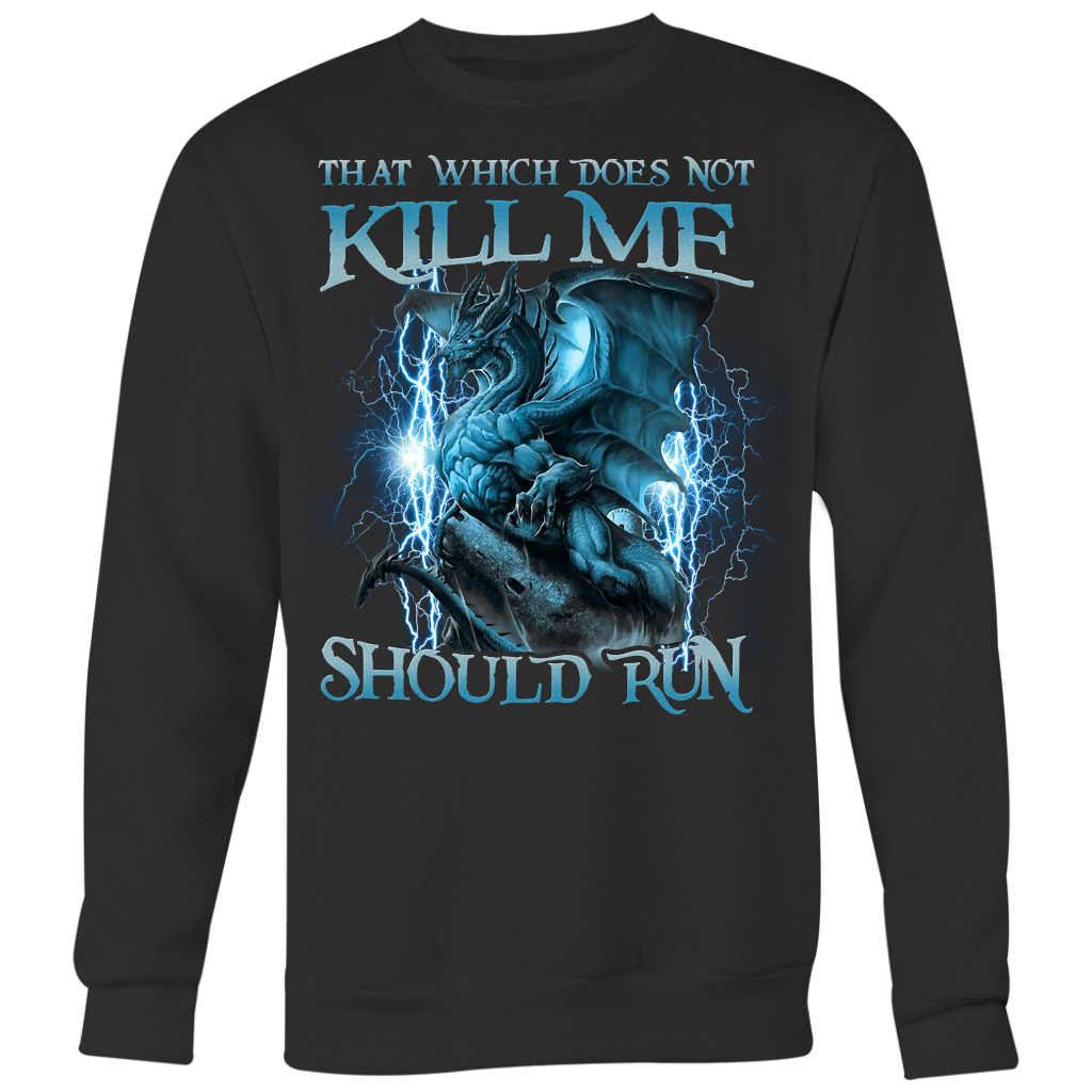 That Witch Does Not Kill Me Should Run Dragon shirt