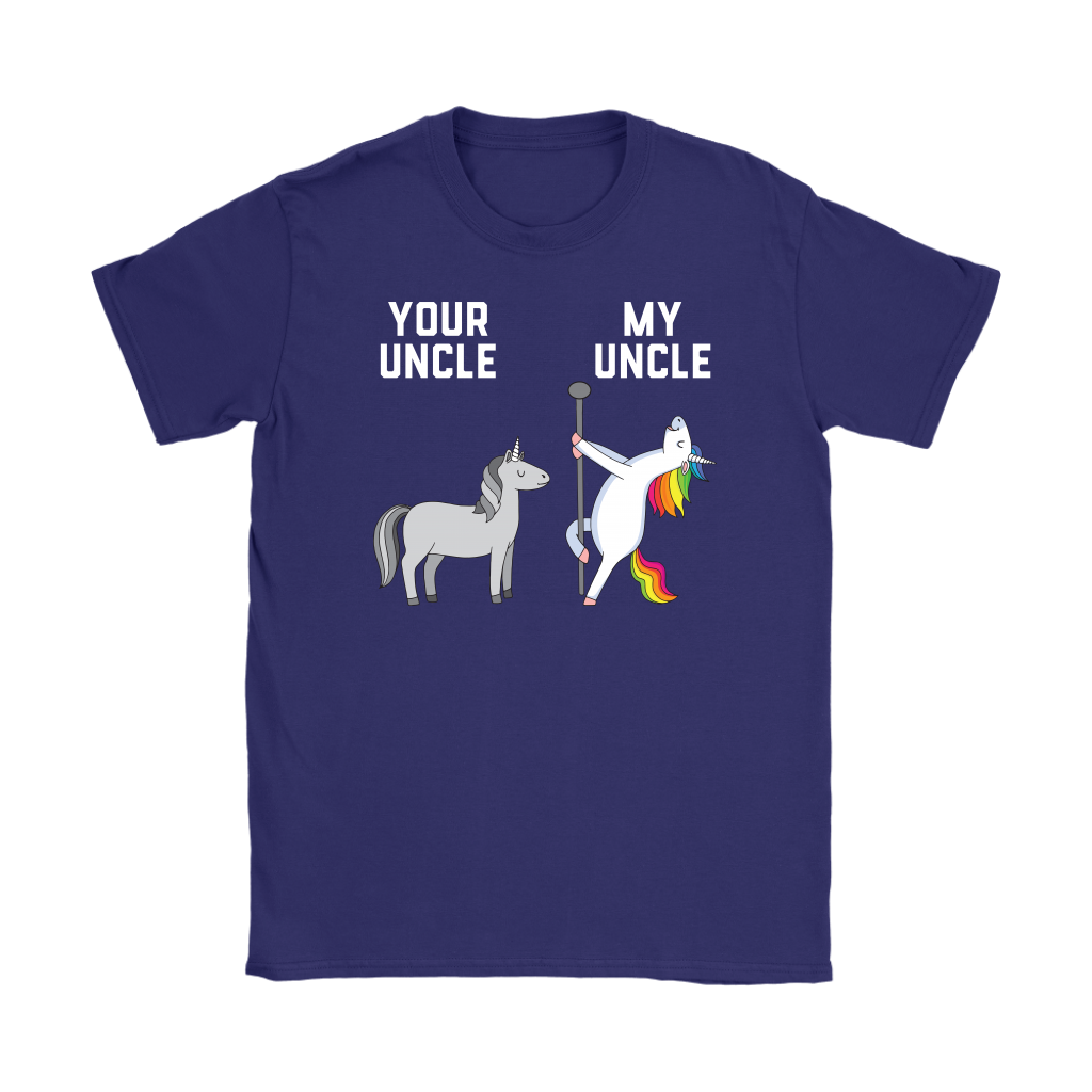 Your Uncle My Uncle You Me Dancing Unicorn shirt