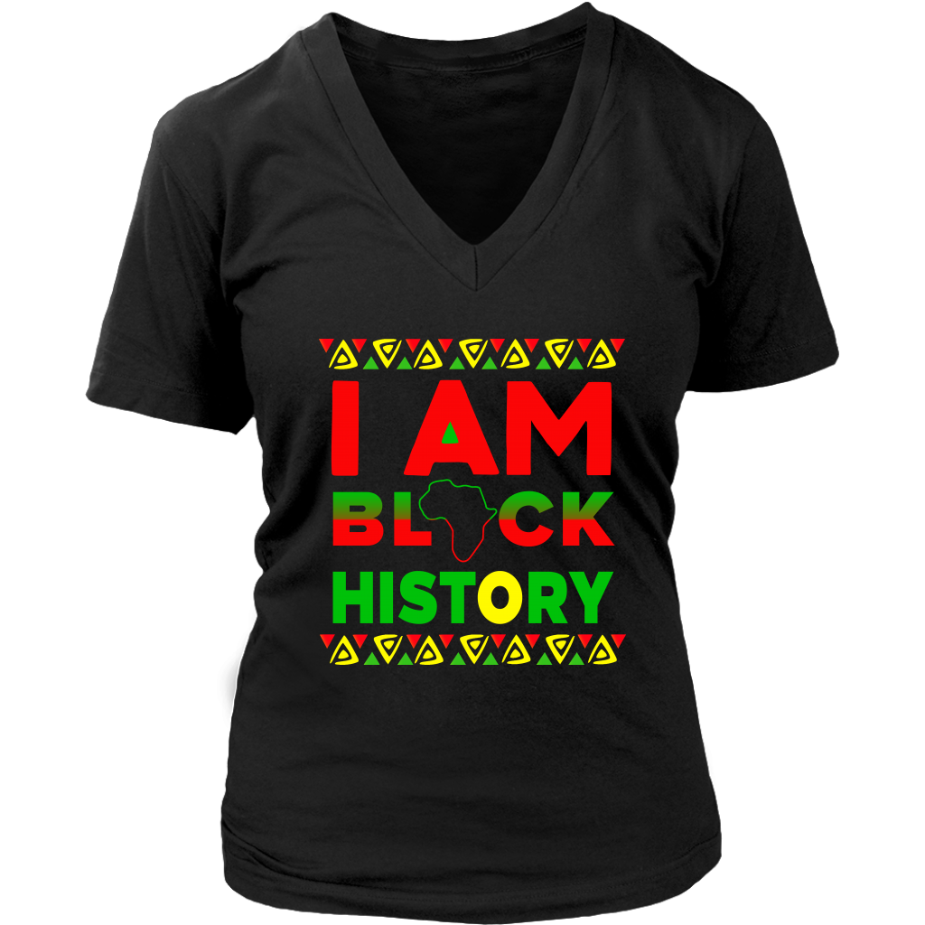I Am Black History African American Black Pride T Shirt