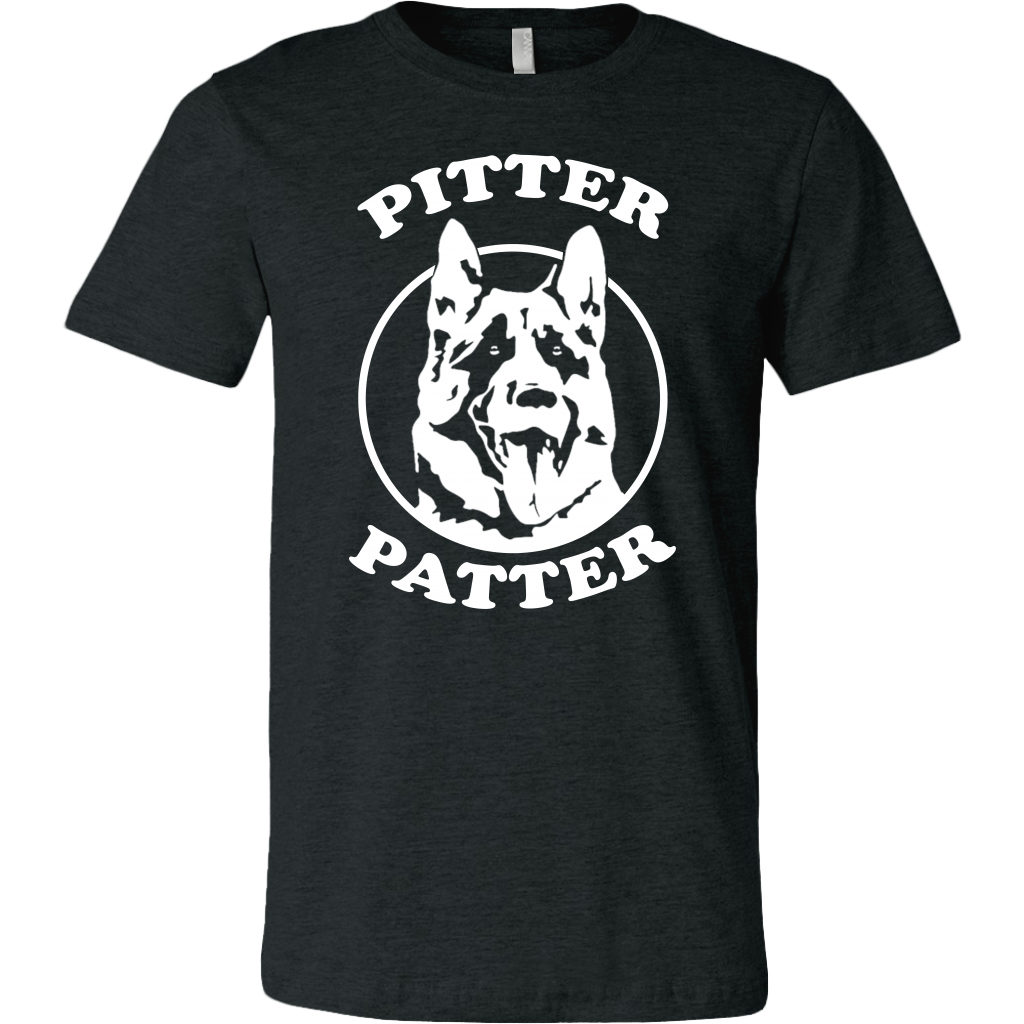 Funny Pitter Patter Dog Arch logo shirts