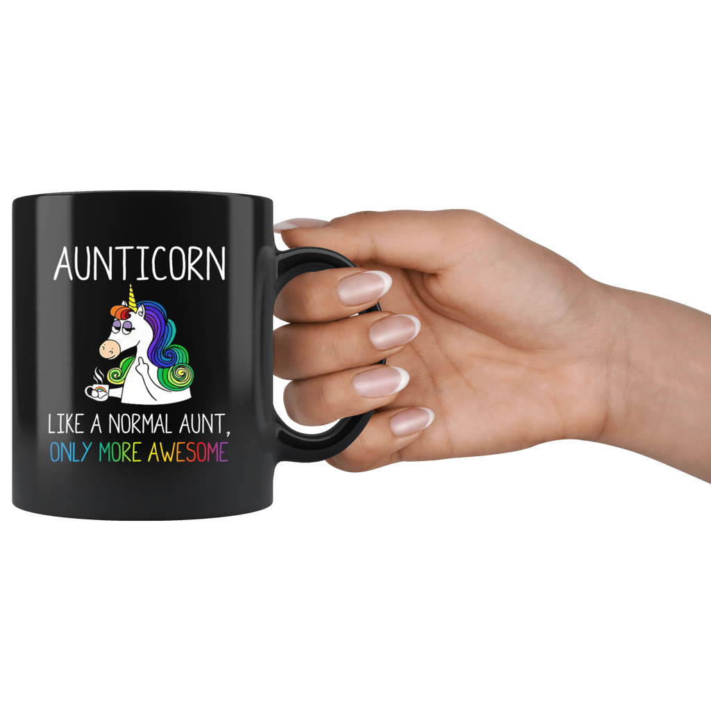 Aunticorn Like a Nomarl Aunt Only More Awesome Mug