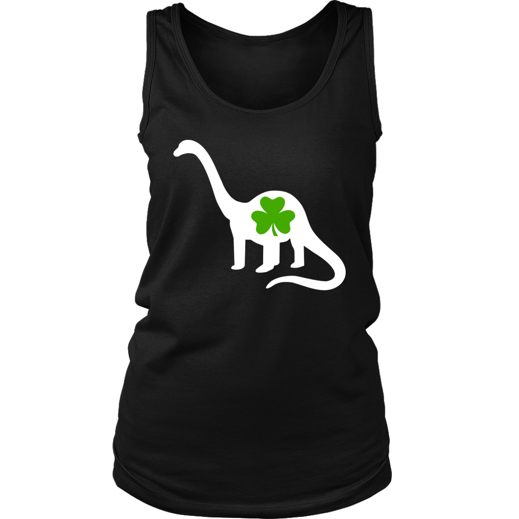 Irish Dinosaur Shamrock Clover St Patricks Day shirt
