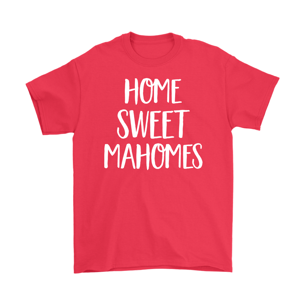 Patrick Home Sweet Mahomes Scripts Kansas City KC Football shirt