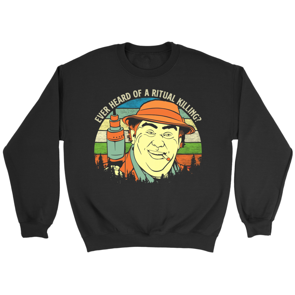 Vintage Retro Sunset Uncle Buck Ever Heard of a Ritual killing shirt