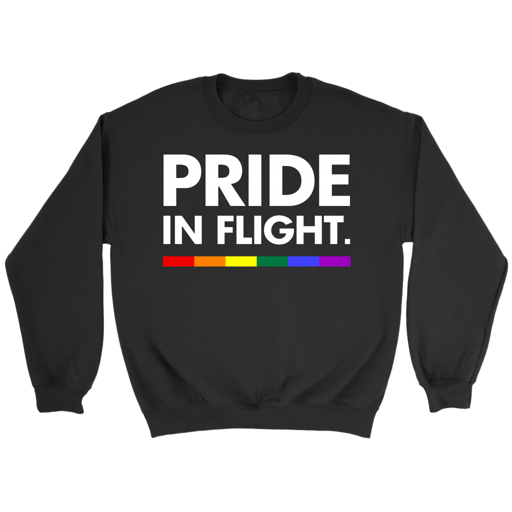 Pride In Flight Tshirt LGBT Pride