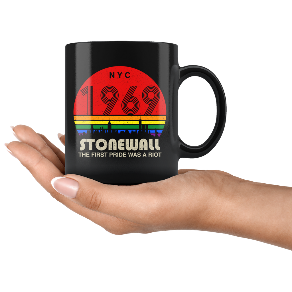 50th Anniversary Stonewall 1969 The First Pride Was A Riot LGBT mug