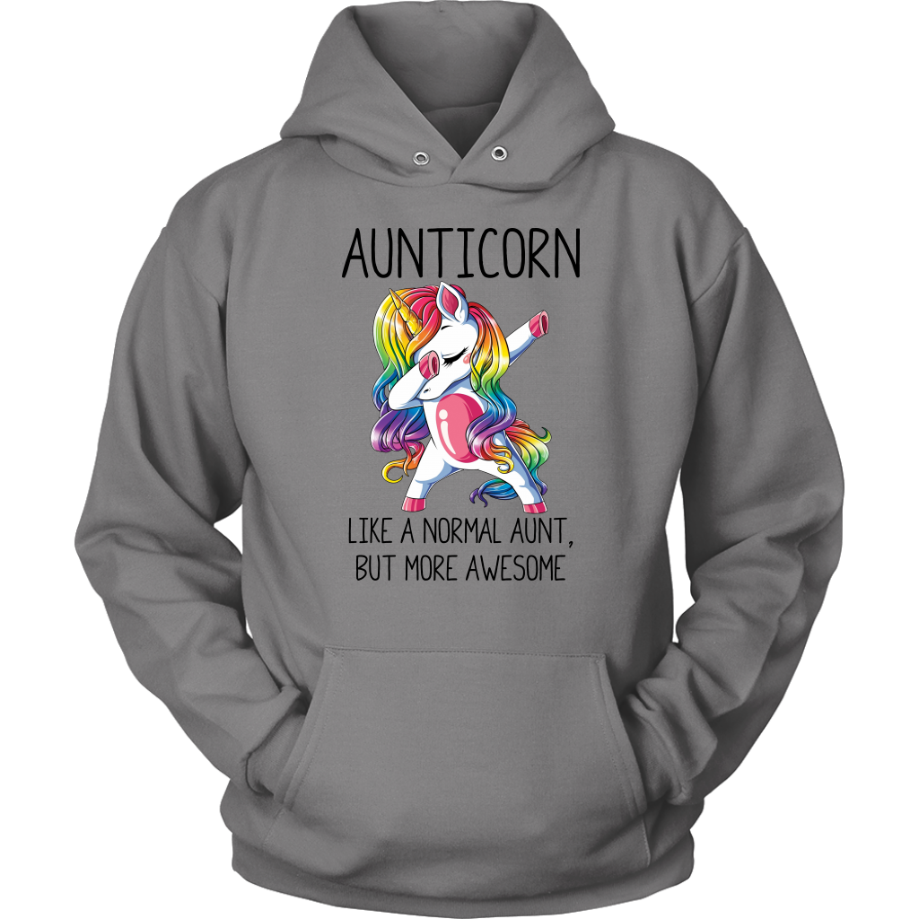 Aunticorn Like a Nomarl Aunt But More Awesome shirt