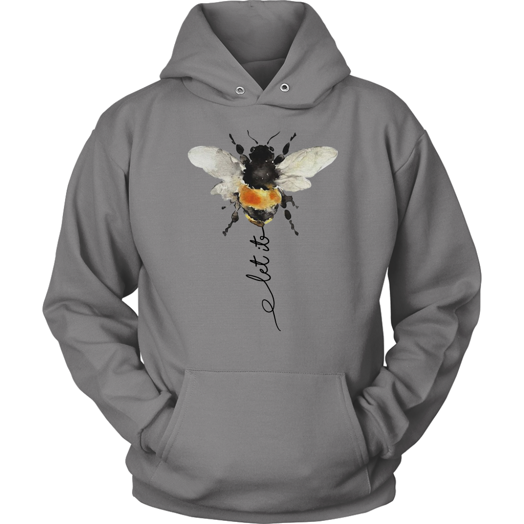 Hippie Let it Bee shirts funny