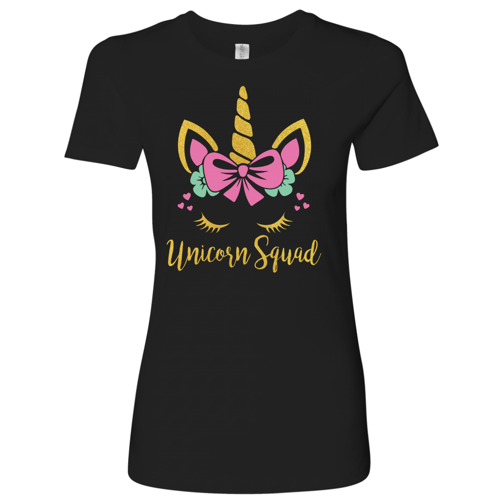 Unicorn Squad T Shirt Funny Rainbow Unicorn