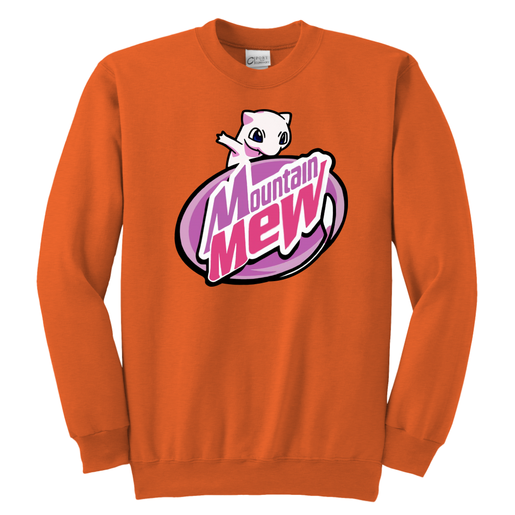 Youth Kid Mountain Mew shirts Hoodie Sweatshirt