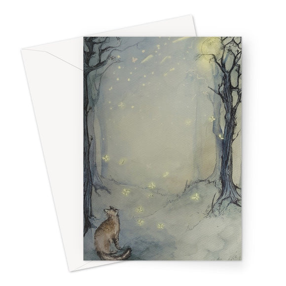 Magic Cat Greeting Card