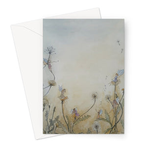 Dandelion Fairies Greeting Card
