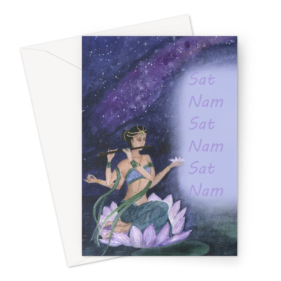 Sat Nam Greeting Card