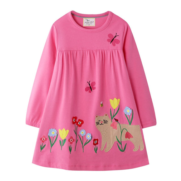 Cat Girl Dresses Cotton