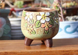 Hand-painted Fairy Pot