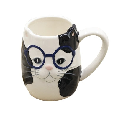 Coffee Cup Cartoon Animal Ceramics Gift