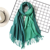 Soft Cashmere Double Color Scarves