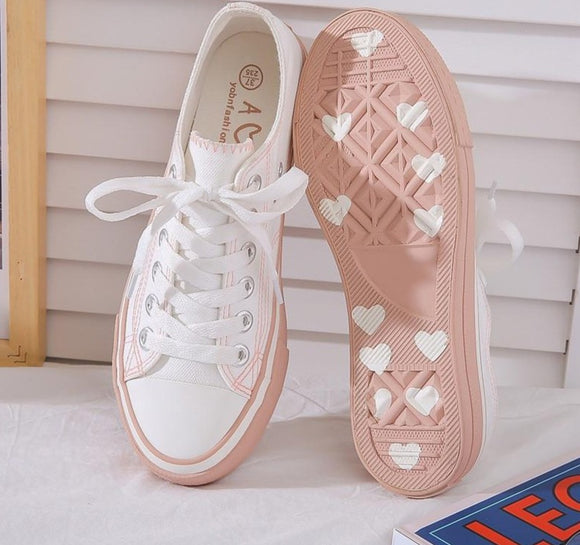 Women sneakers canvas shoes