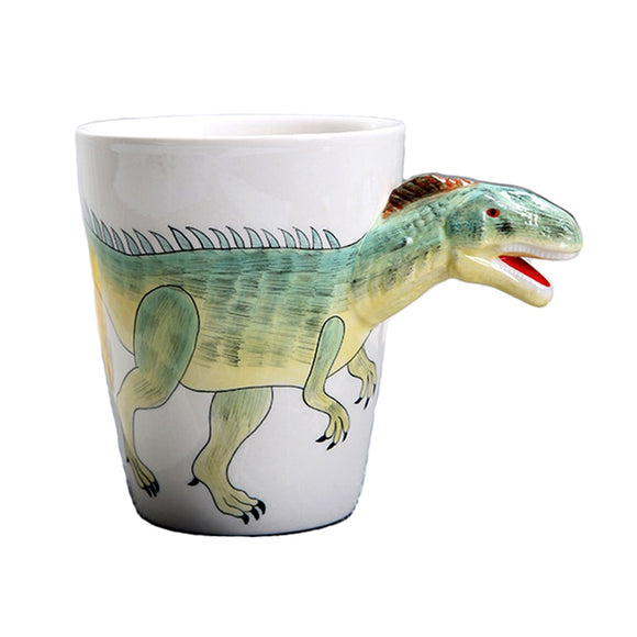 350ml Creative Dinosaur Ceramic Cup Kids