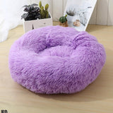 Long Plush Super Soft Cat Puppy Bed