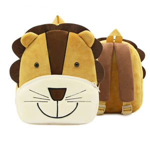 Plush Backpack Animal School Bags Cartoon
