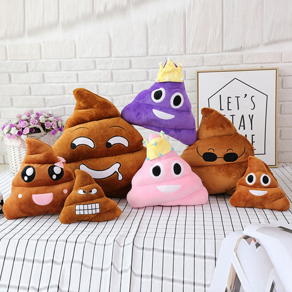 Super poop Cushion kids laugh gift