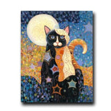 Oil Paintings Cat Canvas Painting