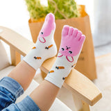 Kids Toe Socks Cotton Animal socks