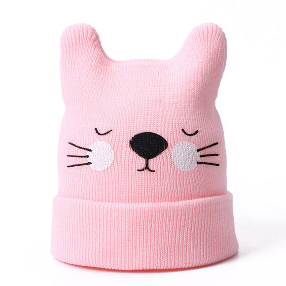 Children Winter Cat Beanie