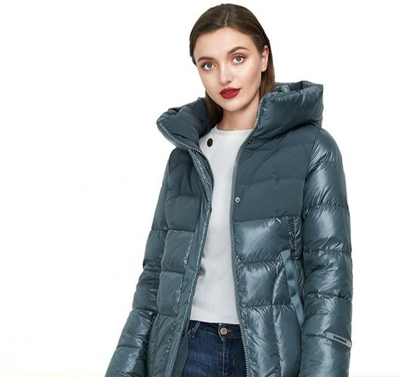 Women's Puffer hooded Jacket